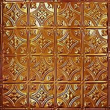 Pattern #3 Tin Tile Backsplash Kit (Rustic Copper Translucent)