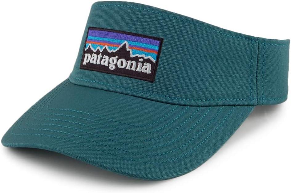 Patagonia P-6 Logo Visor Gorra, Unisex Adulto, Tasmanian Teal ...