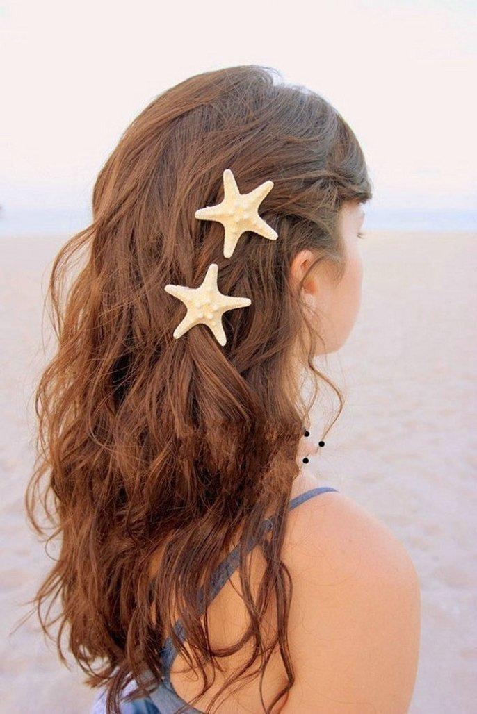 Changeshopping(TM) Fashion New Special Design Women Lady Girls Hair Clip Hairpin (Starfish)