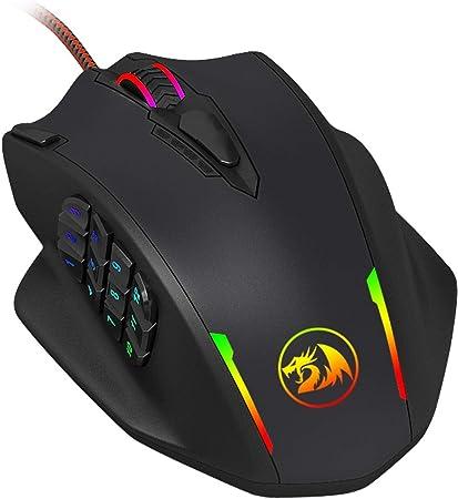 Mouse Gamer Redragon Impact Chroma M908 12400DPI
