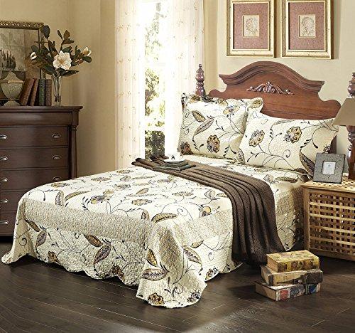 Tache Home Fashion Bedspread Set, Twin, Seasons Eve