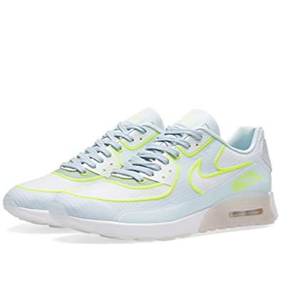 check out 71d71 55b49 Nike Women s Air Max 90 Ultra 2.0 SI (12, White Glacier Blue)