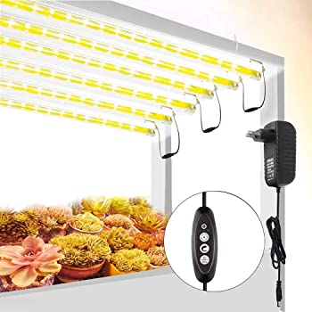 Roleadro T5 Led Plant Grow Light Strips with Extension Cables