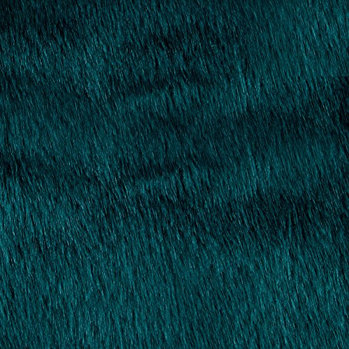 - Shannon Fabrics Faux Fur Solid Mink Fabric, Deep Teal
