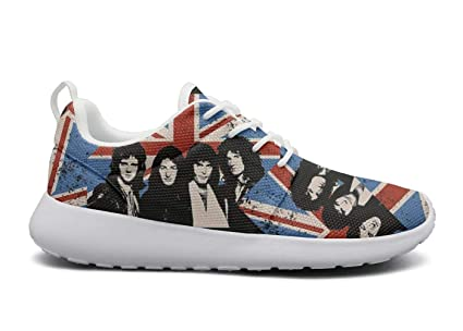 fd9431b93ab0 Ddiie Edd Queen-Band-Bohemian-Rhapsody- Women s Shoes Sneakers Running  Womens Classic
