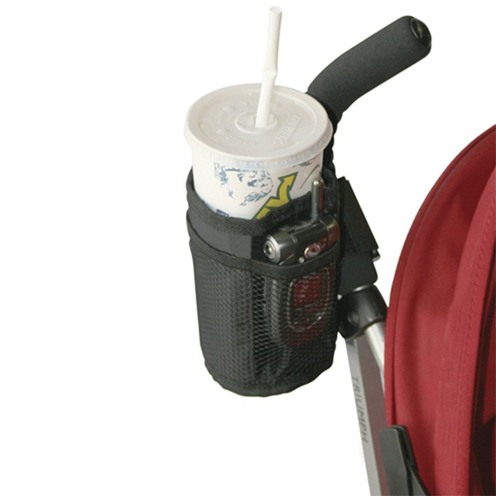 ZTL Baby Stroller Pram Pushchair Cup Holder Phone Milk Bottle Drink Pocket Storage Bag