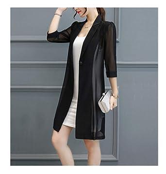 Plus Size Suit Female Jacket Cardigan Casual Lady Work Wear Women