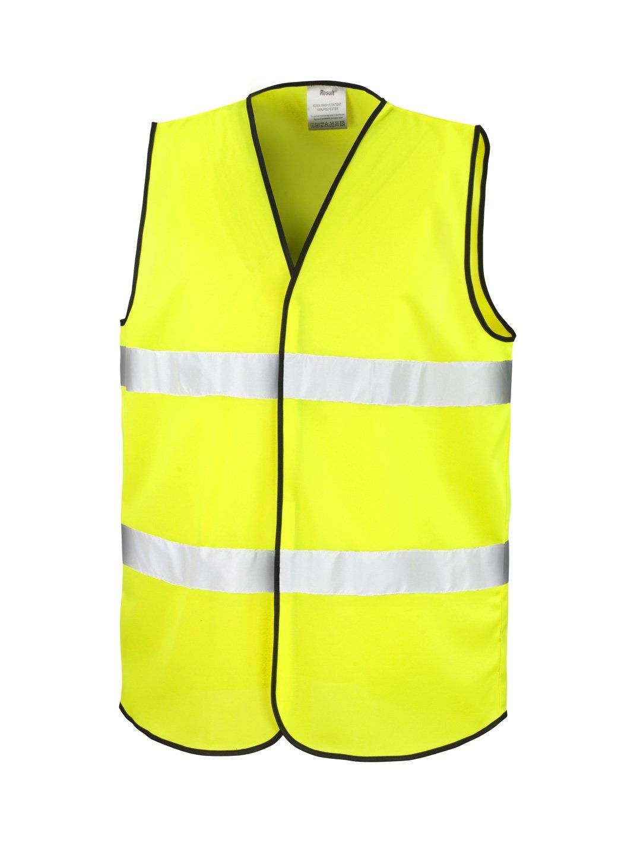 Chaleco Reflectante de alta visibilidad, Fluorescente L/XL fluo giallo MKR