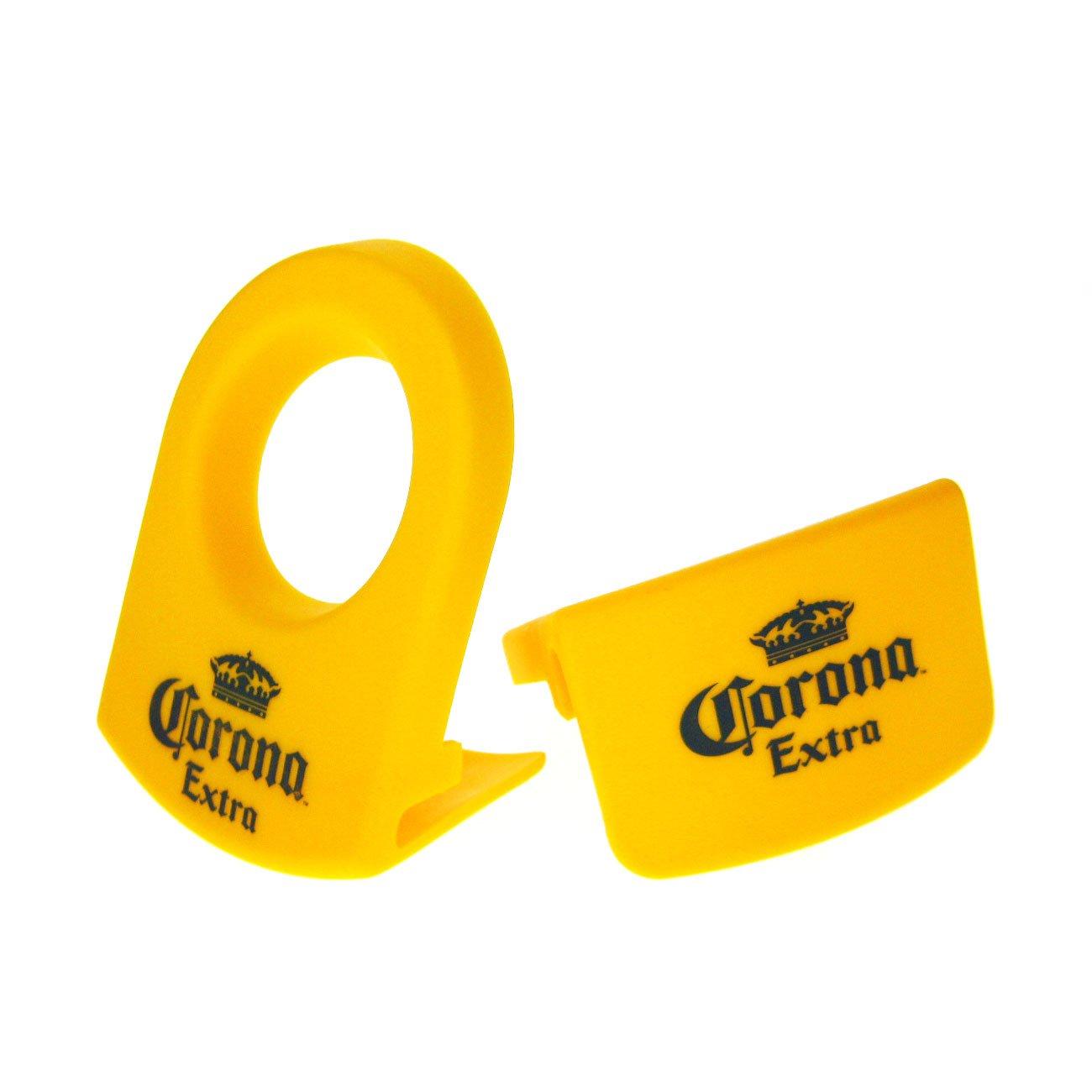 CoronaRita Yellow Drink Clips - For Margarita Glasses - Set of 8