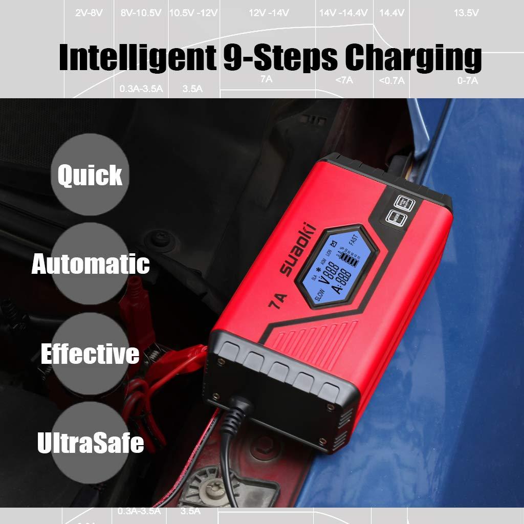 SUAOKI chargeur de batterie de voiture