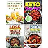 Everyday ketogenic kitchen, one pot ketogenic diet cookbook, keto diet for beginners and keto crock pot cookbook 4 books collection set