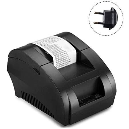 gaeruite 58mm Mini Impresora térmica de Recibos, Impresora de ...