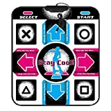 YOTHG Dance Mat Non-slip USB Dancing Mats Lose Weight Pads Dancer Blanket Entertainment and Fitness Electronic Musical Playmat for PC Computer Laptop 94x82x1.1cm