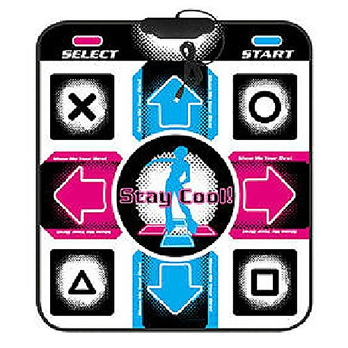 YOEDAF USB PC Dance Mat Sports Dance Pad Non-Slip HD Game Dancing Step Pads USB Lose Weight Pads Dancer Blanket Dancing Machine for PC Laptop