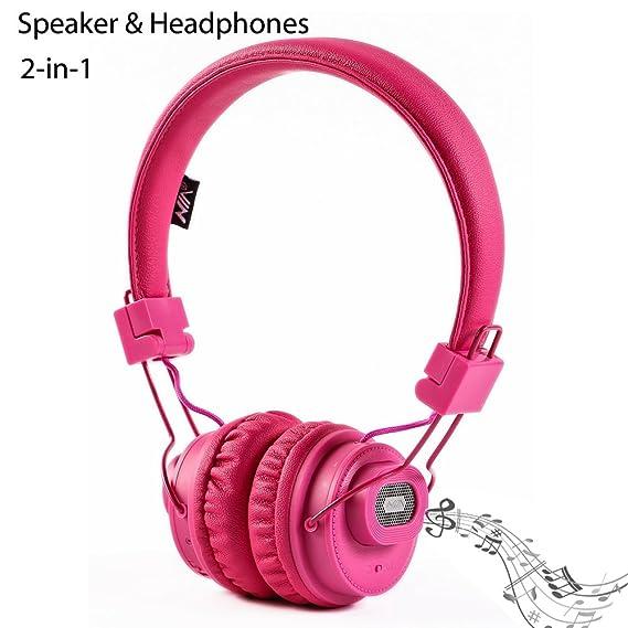 Auriculares estéreo Bluetooth Altavoz inalámbrico GranVela x5sp multifuncional plegable Bluetooth Headset con micrófono, tarjeta Micro