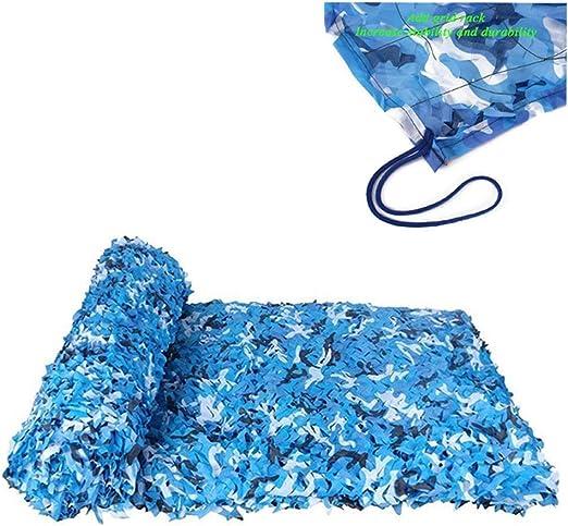ZHhome Malla De Camuflaje Azul 3m×5m, Malla De Camuflaje Militar ...