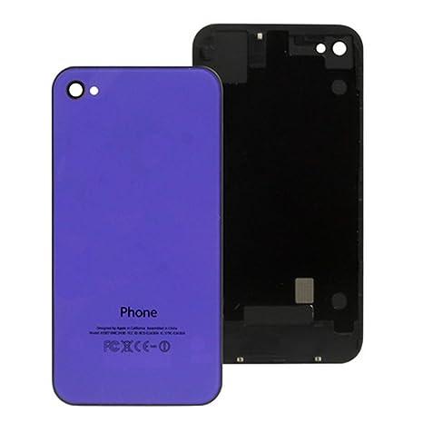 Carcasa trasera de repuesto para cristal de iPhone 4 incluye ...