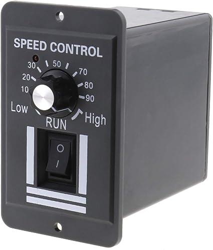 Ototec Stufenloser Motor Drehzahlregler Umschaltbarer Schalter Dc 9 60v Regler Pwm Generator Steuerschalter Küche Haushalt