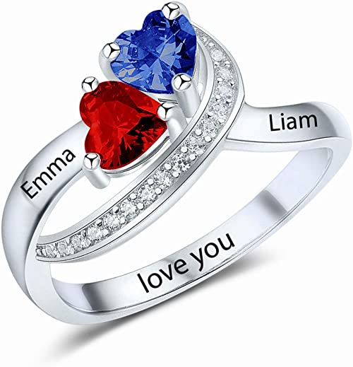Lex /& Lu Sterling Silver /& 12k Rose Ring