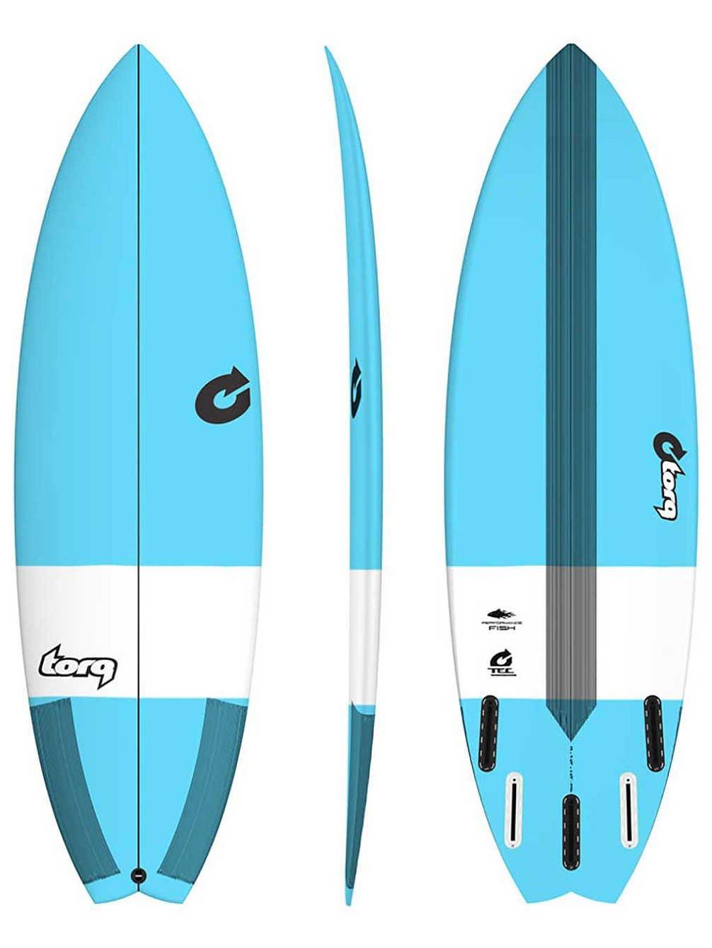 Torq Surfboard Epoxy Tec Performance Fish 6.10