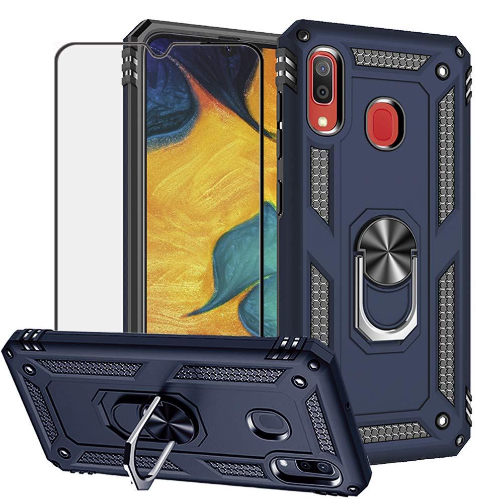 Funda + Vidrio para Samsung Galaxy A20 / A30 Con Pie BEST SHARE [7SB3TDZQ]