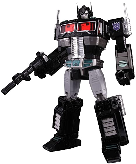 Transformers - Master Piece MP10B Black Convoy Toy Figures at amazon