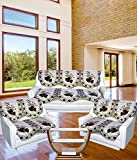 Tanya's Homes Royal Chenille Sofa Covers for 7 Seater Sofa(Pack of 14 Sofa Panels)(2 Tripple Seater;4 Double Seater)