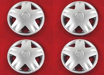 4 unidades Tapacubos – Tapacubos Tapacubos 13 pulgadas Turbo Cilindro de apertura tapas Llantas de