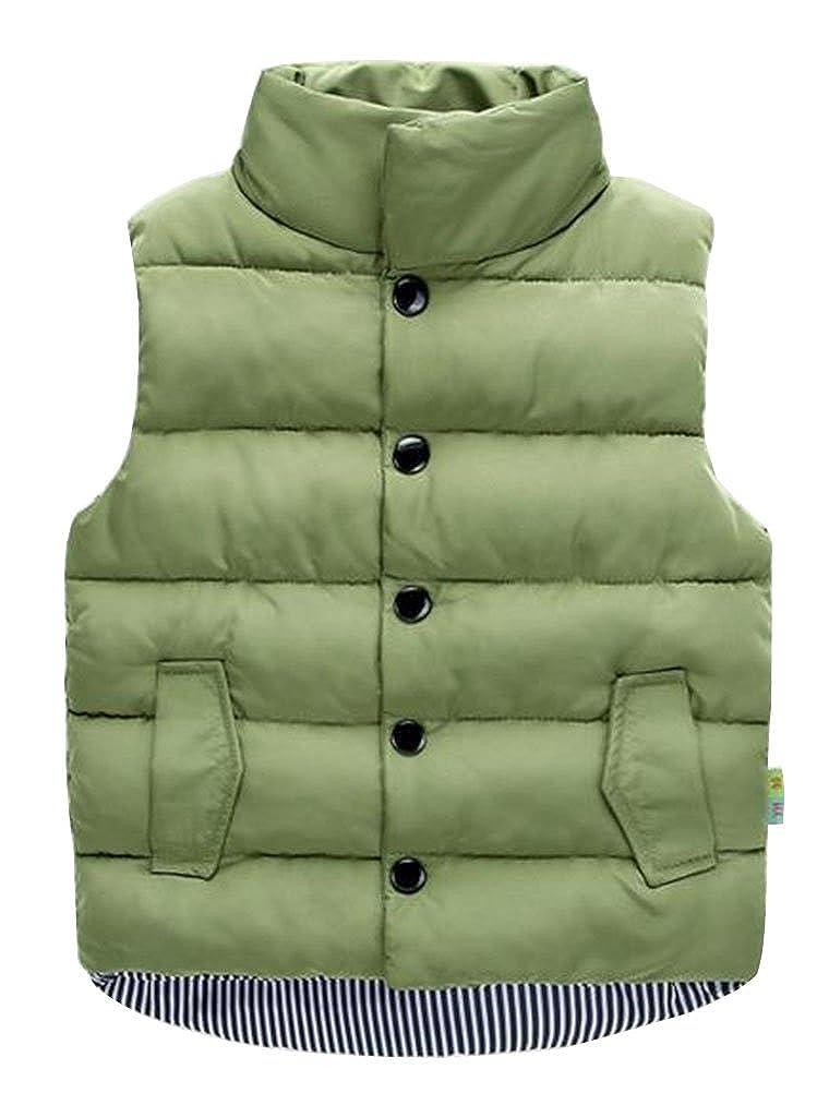 Unisex Baby Girls Boys Winter Cotton Vest Kids Tops