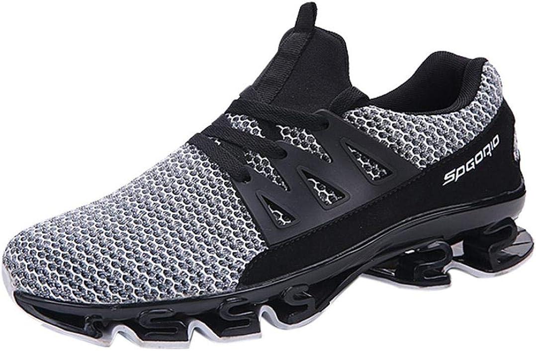 Zapatos para correr hombre, Covermason Zapatillas de deporte de malla al aire libre para hombre: Amazon.es: Ropa y accesorios