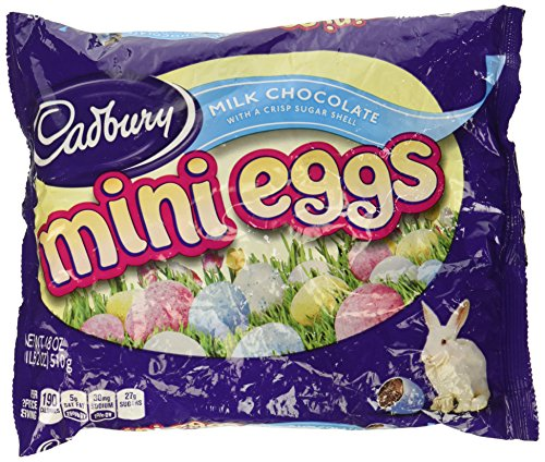 Cadbury Easter Candy Coated Mini Eggs (Milk Chocolate, 18 Ounce)