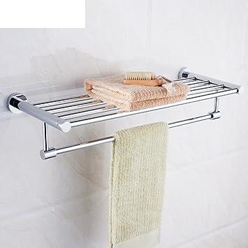 estante de toalla/ estante de ducha acero inoxidable cuarto ...