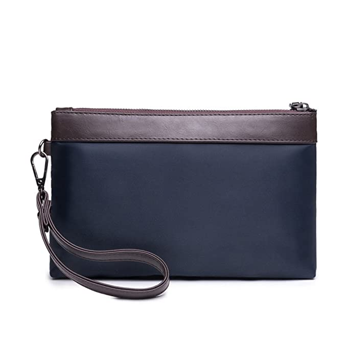 ee27caf1bf35 Image Unavailable. Image not available for. Color  Shozafia Men Waterproof  Nylon Handbag Business Phone Bag Clutch Wrist Bag Wallet