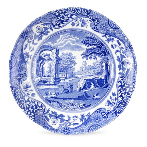 (Spode Blue Italian Bread and Butter Plate, Set of)