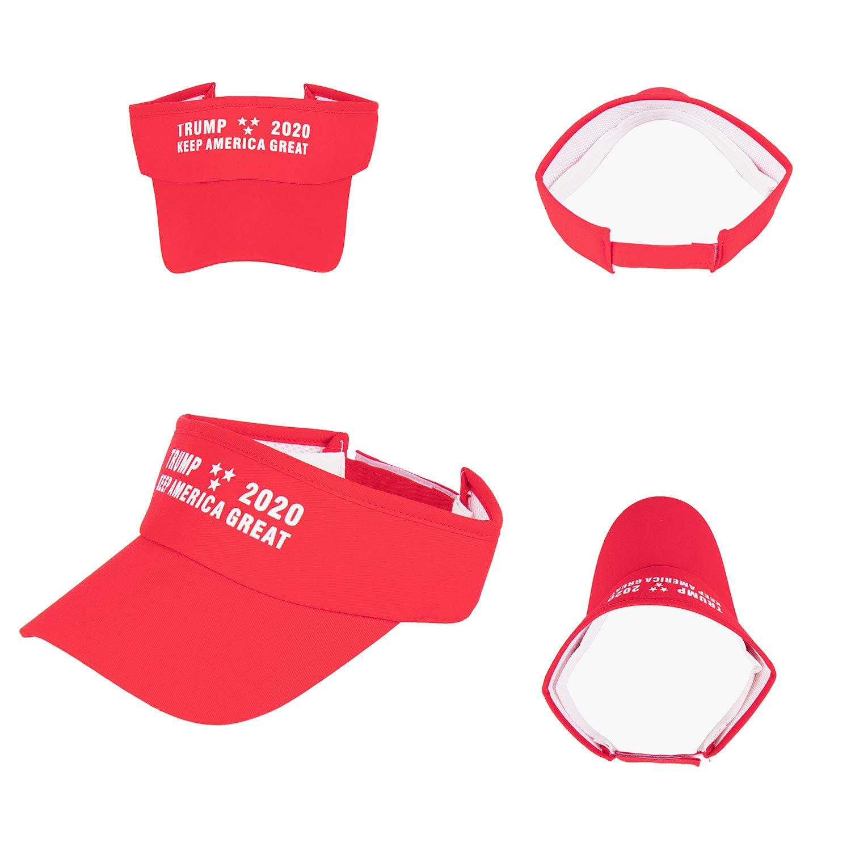 ROWILUX Trump 2020 Keep America Great Visor Sun Hat for Men and Women