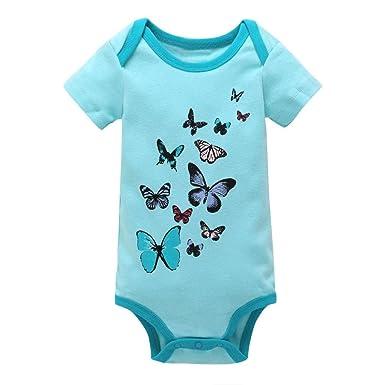 Infant Romper Cotton Blend Cartoon Rabbit Pattern Short Sleeve Jumpsuit Baby Boy Girl Cute Playsuit for Easter Newborn Clothes 0-18 Months