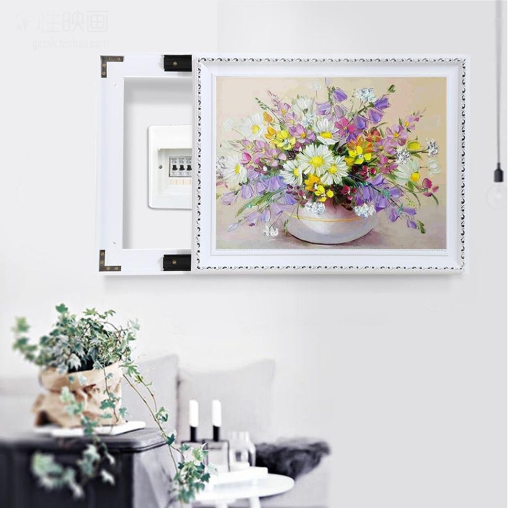 Yeefant Night Landscape Embroidery Paintings No Fading 5D Canvas Rhinestone Pasted Pasted DIY Diamond Cross Stitch Home Wall Decor for Bedroom Living Room,12x16 Inch