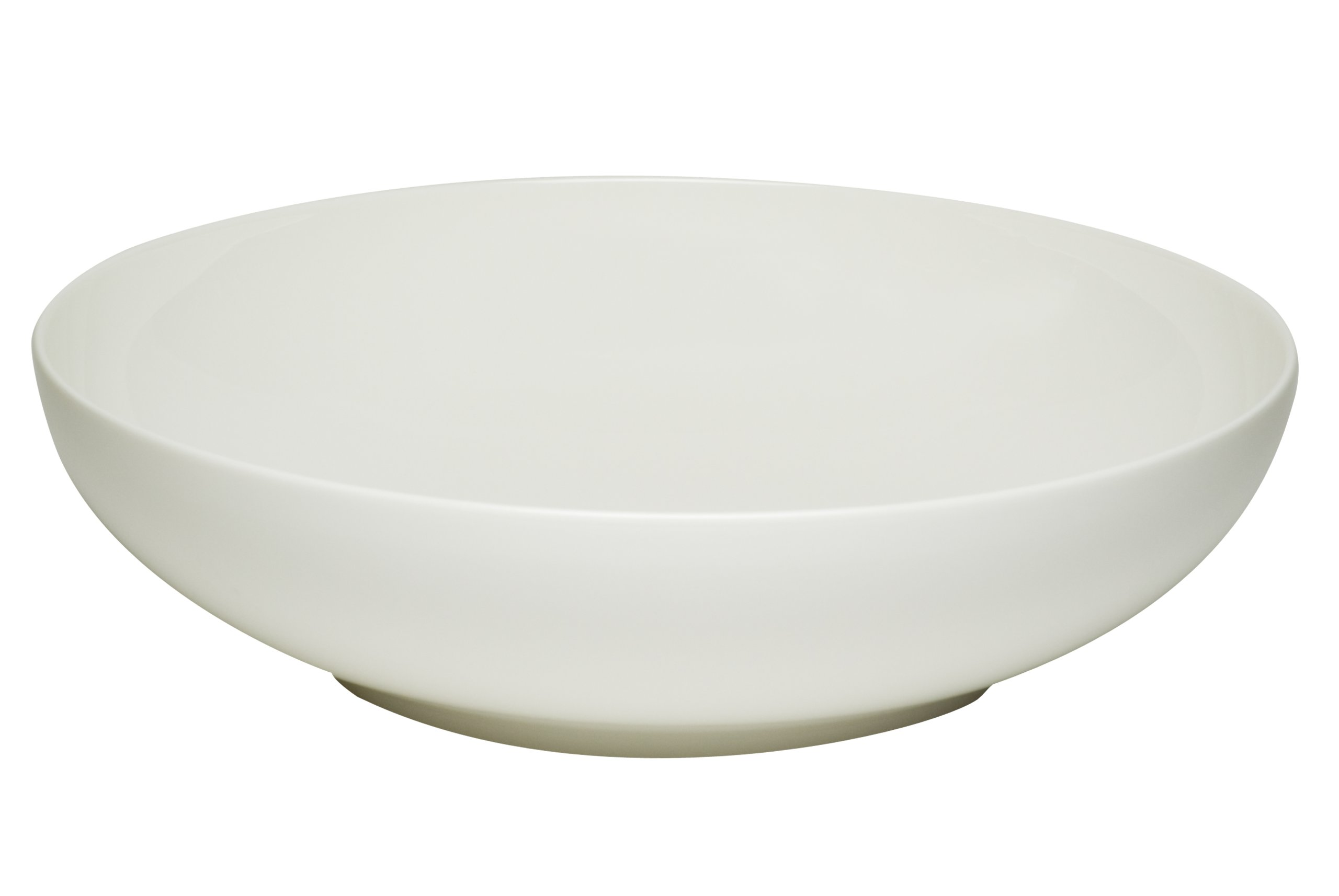 Red Vanilla Everytime White 13-Inch Large Coupe Centerpiece Bowl