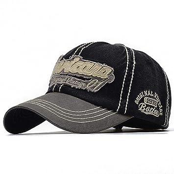 FBXYL Canad/á Carta Algod/ón Bordado Gorras De B/éisbol Snapback Sombrero para Hombres Mujeres Ocio Sombrero Gorra