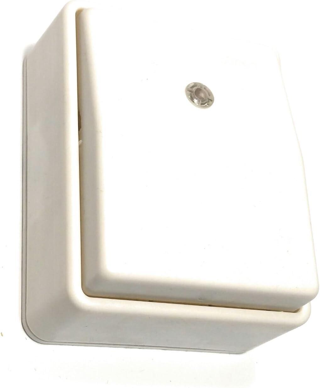 Interruptor Conmutador de Superficie con Luminoso Serie 9 Simon 00904-30 Blanco