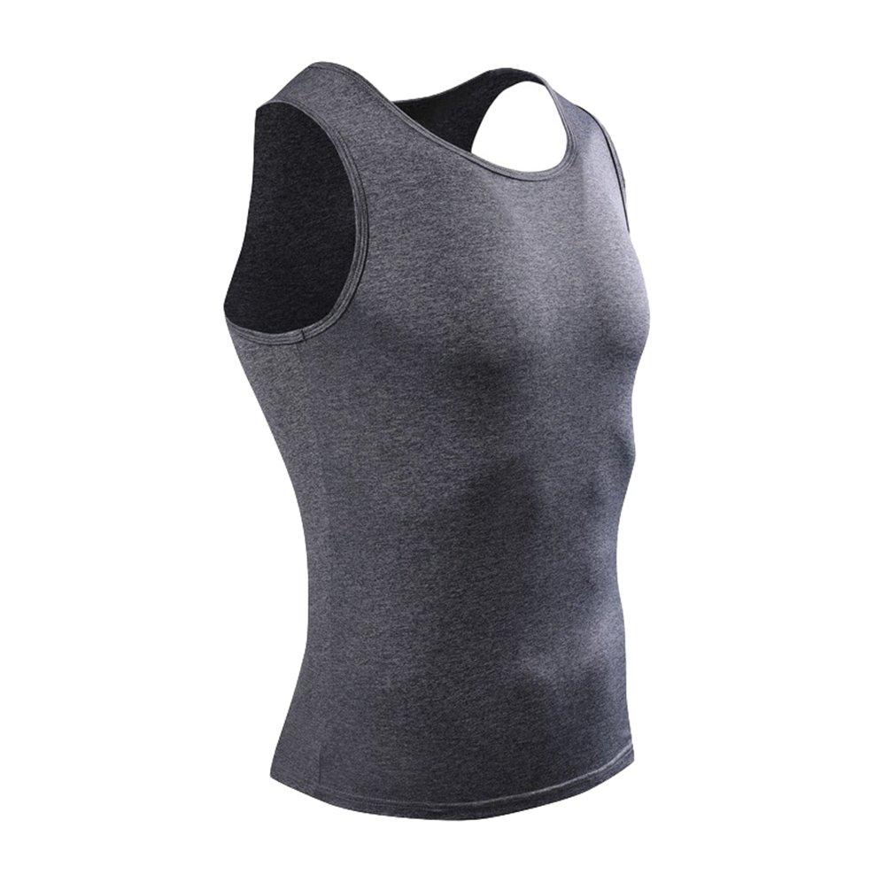 Tookang Uomo Abbigliamento da Sportivo Palestra Canottiera Slim Fit Elasticizzato T-Shirt Senza Maniche Muscolo Formazione Workout Tank Top Canotta