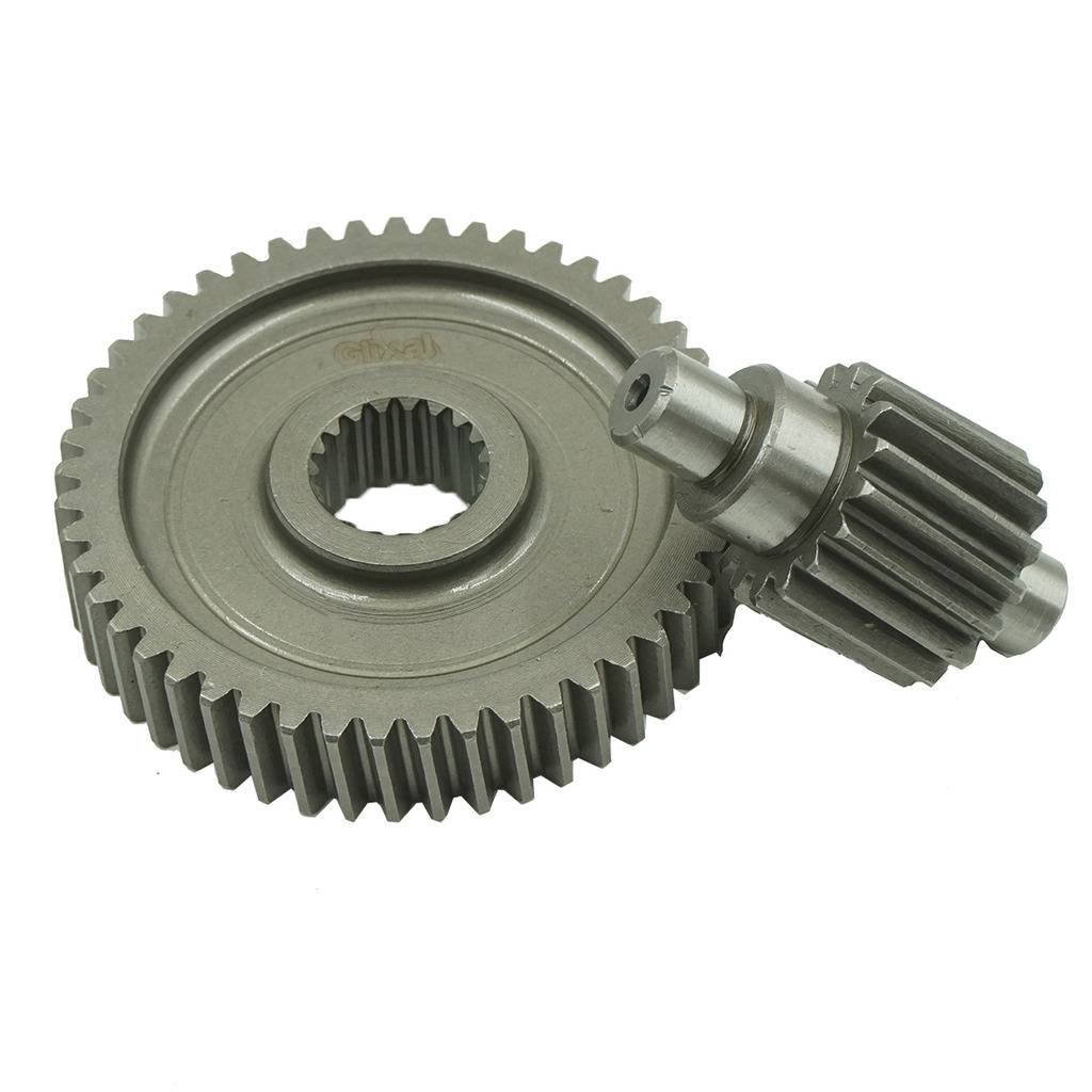 Glixal High Performance GY6 49cc 50cc Chinese Scooter Racing Final Drive Gear Set 139QMB 1P39QMB Moped ATV Go Kart (17T/49T)