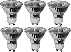 Pack of 6 Bulbs 35 Watt GU10 Halogen Bulb 120 Volt GU10 Halogen Light Bulb
