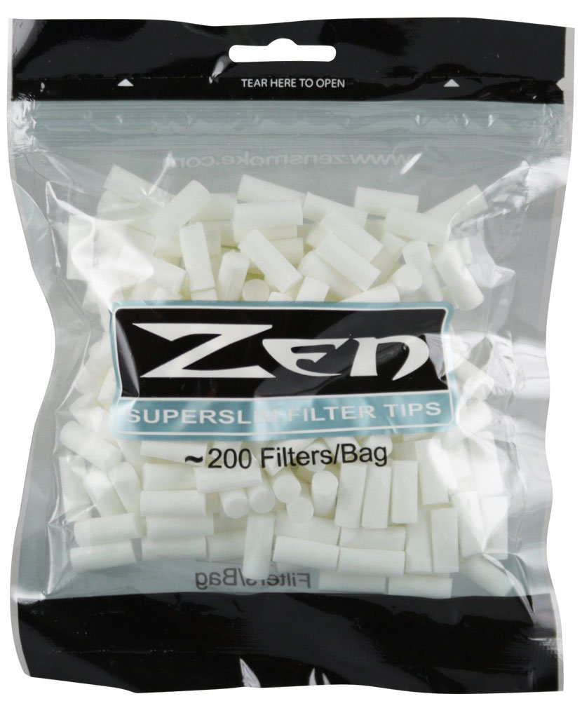 200pc Zen Premium Super Slim Filter Bag by Zen