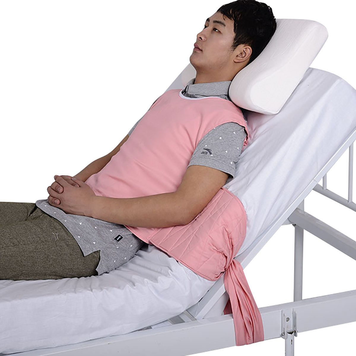 Posey Criss Cross Chest Vest Restraint for Use with Bed or Chair Manufacturer:ZH (S)