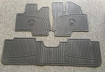 Amazon.com: 10-16 Cadillac SRX Premium All Weather Floor Mat Package