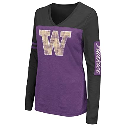 New Washington Huskies NCAA Long Sleeve Team Apparel T-Shirt All Sizes Available
