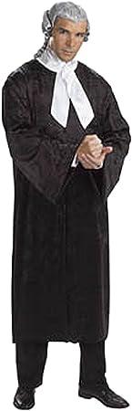 Cesar E995-001 - Disfraz de juez adulto, talla única: Amazon.es ...