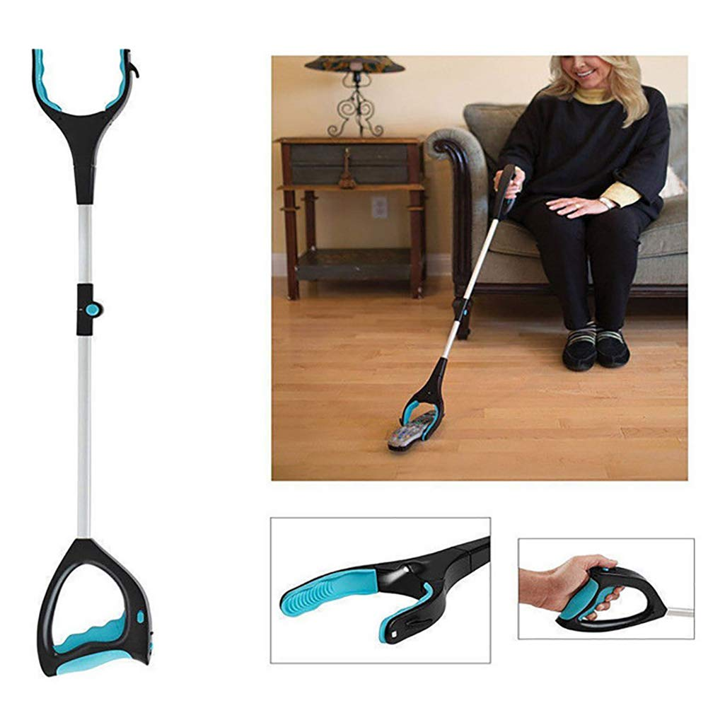 ZDYLM-Y Long Grabber Reacher Household Portable Fold Telescopic Picking Tool, Suitable for Disabled, Assistive Tools for Obstacle Arms