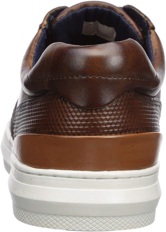 Steve Madden Men's Shellter Sneaker Cognac Leather